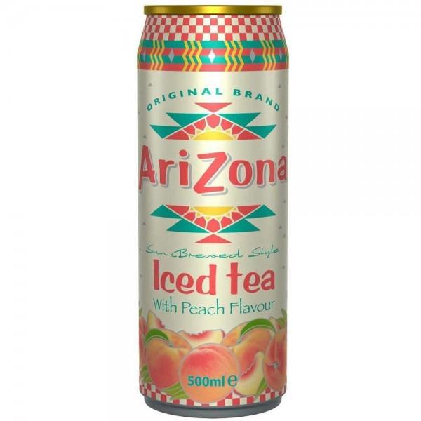 Arizona Iced Tea Peach Dose 0,5l
