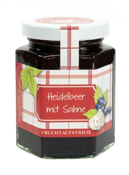 Heidelbeer-Sahne Fruchtaufstrich 200g