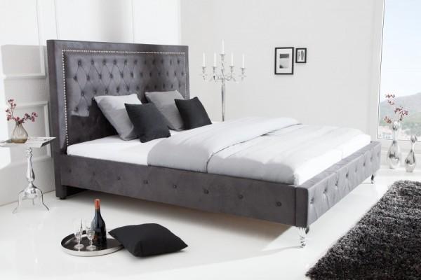 Bett Extravagancia 180x200cm antik grau 38484