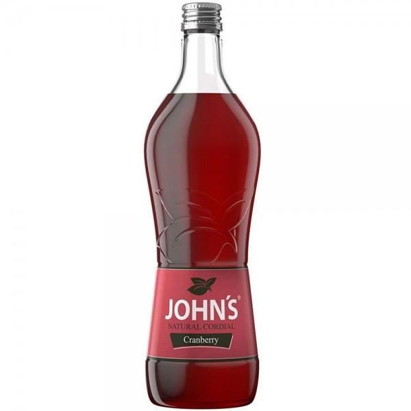 JOHN´S Cranberry Sirup 0,7l