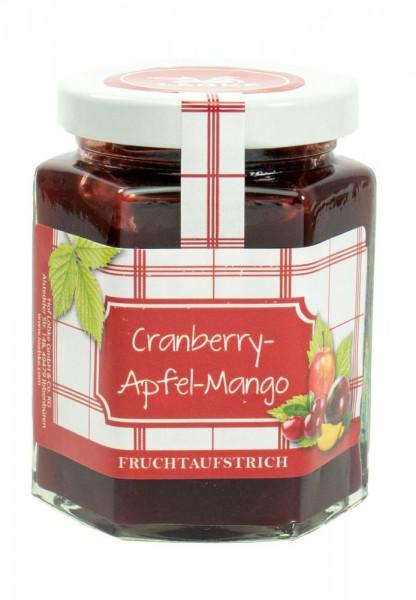 Cranberry-Apfel-Mango Fruchtaufstrich 200g