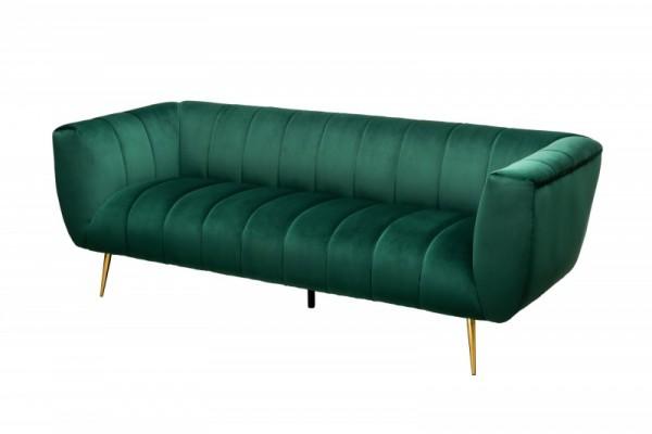 Sofa Noblesse 225cm smaragdgrün