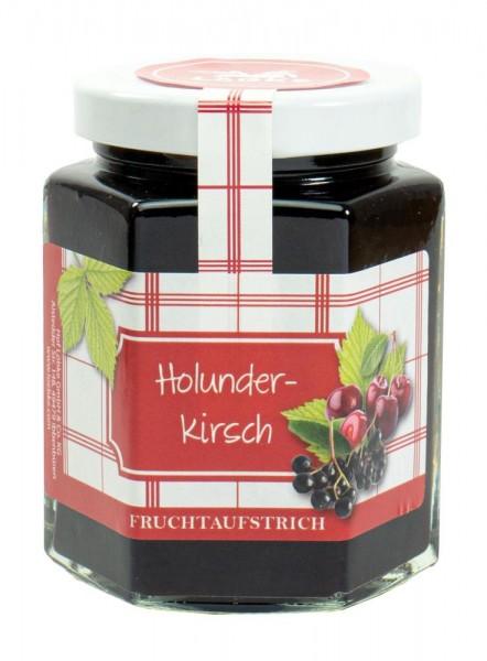 Holunder-Kirsch Fruchtaufstrich 200g
