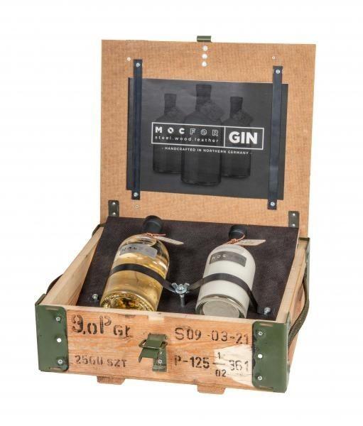MOCFOR Gin Geschenkset - EDEN (in Munitionskiste)