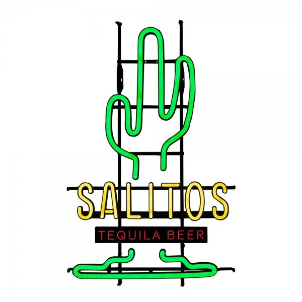 Salitos Kaktus Leuchtschild