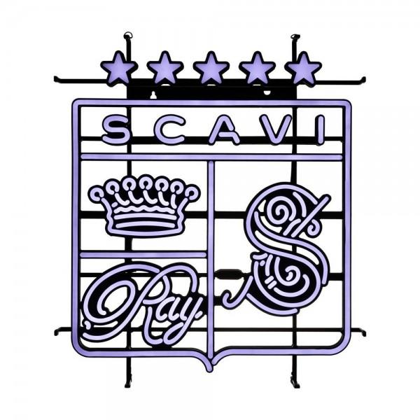 """LED Leuchtreklame Schild """"Wappen"""" von SCAVI & RAY"""