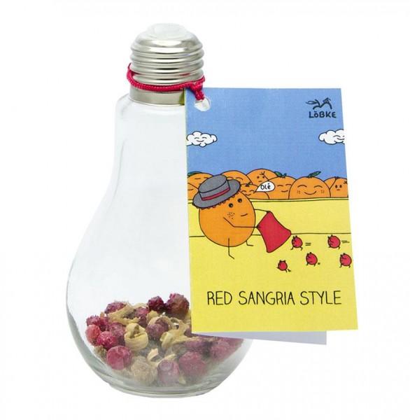 Cocktail-Ansatz Red Sangria Style 0,18l Glühbirne