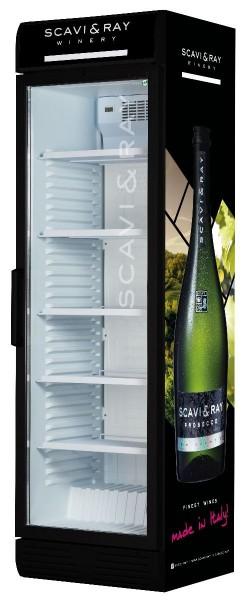 SCAVI & RAY stilvoller Kühlschrank für Premiumprodukte