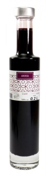 Aronia-Likör 0,20l Kenga-Flasche