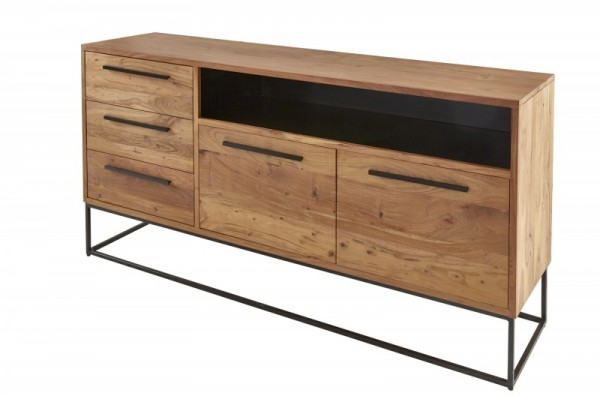 Sideboard Straight 165cm Akazie natur 40295