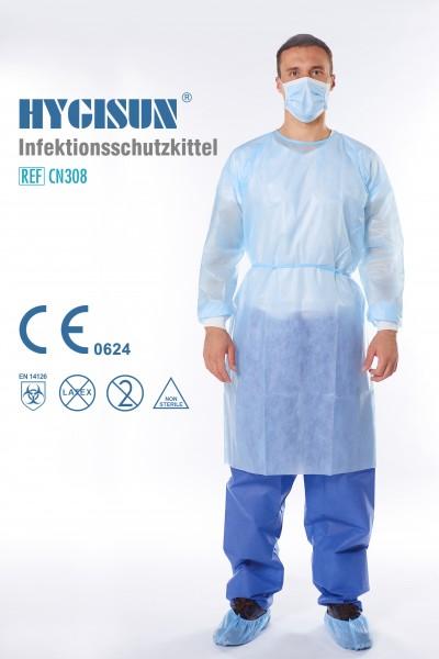 HYGISUN Medizinischer Infektionsschutzkittel gem. EN 14126