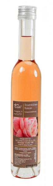Rosenblüten Balsam Essig 0,25l Vittoria-Flasche