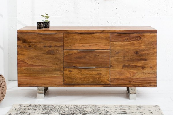 Sideboard Elements 160cm Sheesham 37208