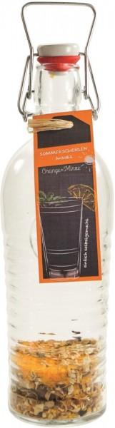 Sommerschorlenansatz Orange + Minze