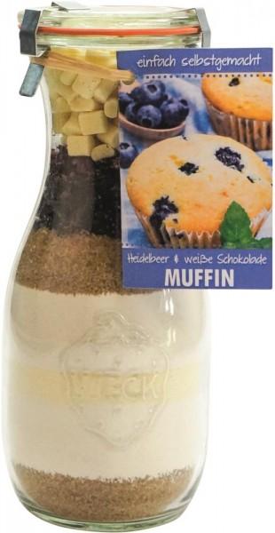 Backmischung Heidelbeer-Schokolade Muffin 530ml