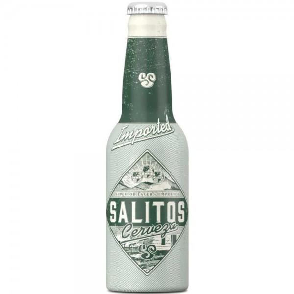 SALITOS Cerveza Beer in der Aluflasche