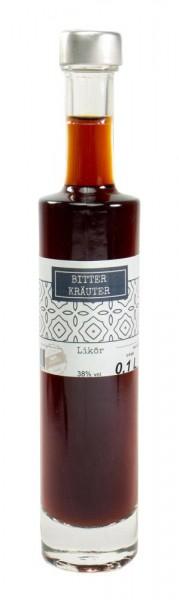 Bitter-Kräuter-Likör 0,1l Kenga-Flasche