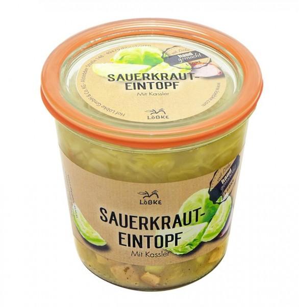 Sauerkrauteintopf mit Kassler 580ml