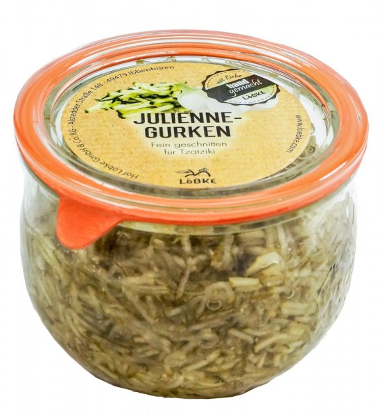 Julienne-Gurken 580ml