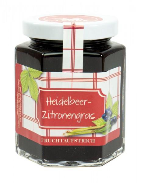 Heidelbeer-Zitronengras Fruchtaufstrich 200g