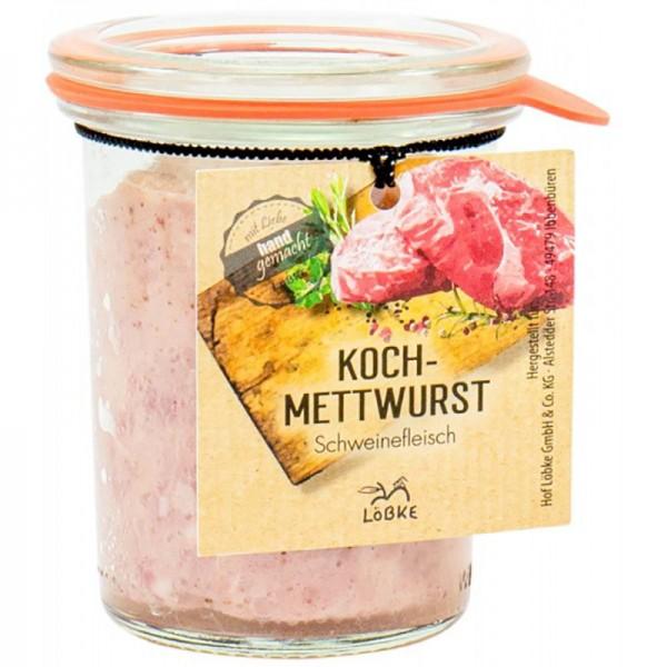 Kochmettwurst 125g Sturz-Weckglas
