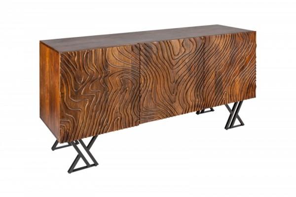 Sideboard Fluid 160cm braun Mango 40244