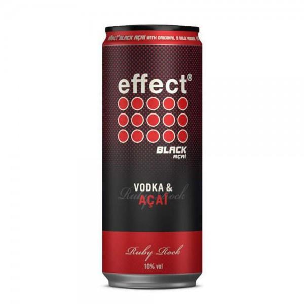 effect® Black Açai trifft auf 9 MILE Vodka 0,33l