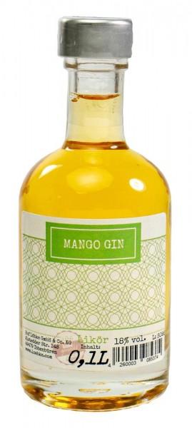 Mango-Gin-Likör 0,10l Nocturne-Flasche