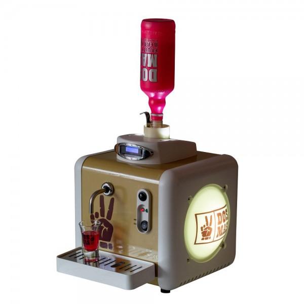 DOS MAS Tap Maschine (Kühlgerät / Shotmaschine) für 1 Flasche