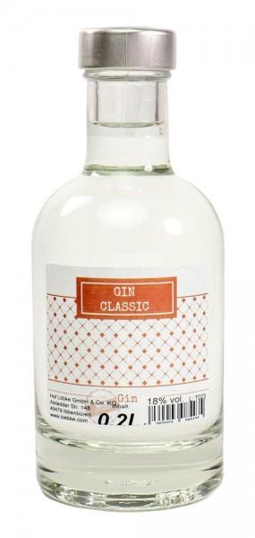 Gin-Classic 0,20l Nocturne-Flasche