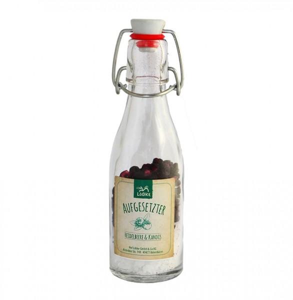 Aufgesetzter Heidelbeere & Kandis 65g Bügelflasche
