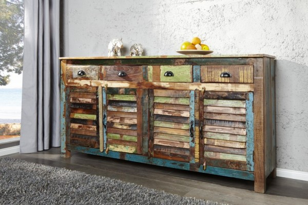Sideboard Jakarta 160cm Recyclingholz 40126