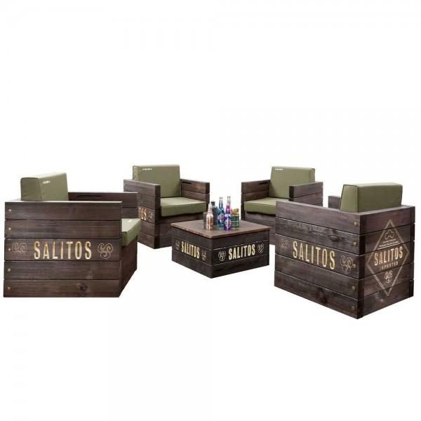 Salitos Lounge Möbel Set