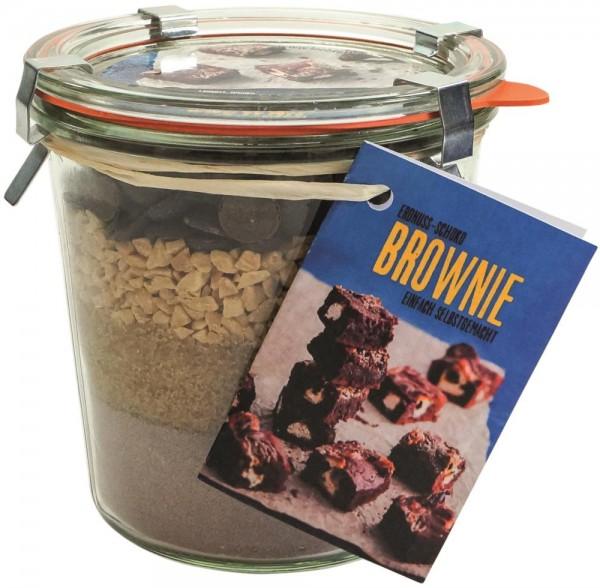 Backmischung Erdnuss-Brownie-Kuchen 580ml