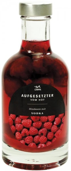 Aufgesetzter Himbeere 0,20l Nocturne-Flasche