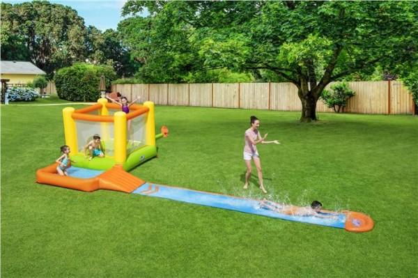 """H2OGO!™ Wasserpark mit Dauergebläse """"Splash & Dash"""" 662 x 300 x 150 cm"""
