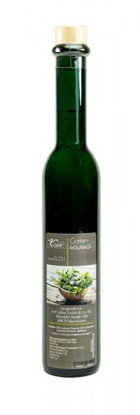 Gartenkräuteröl 0,25l Vittoria-Flasche