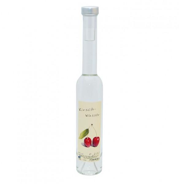 Kirsch Wasser 0,20l Platina-Flasche