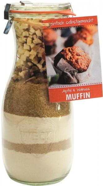 Backmischung Apfel-Walnuss Muffin 530ml