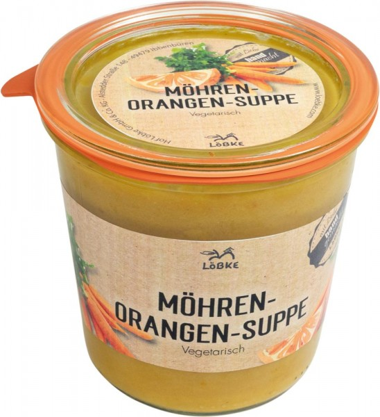 Möhren-Orangen-Suppe 580ml