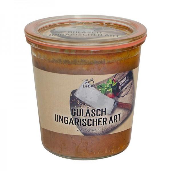 Gulasch - Ungarische Art 580ml Weckglas