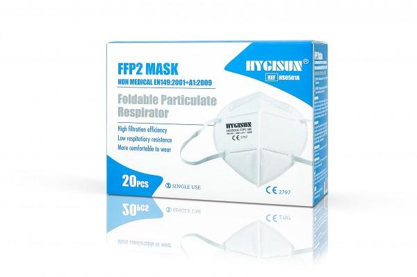 HYGISUN FFP2 Maske mit CE (HS0501A)