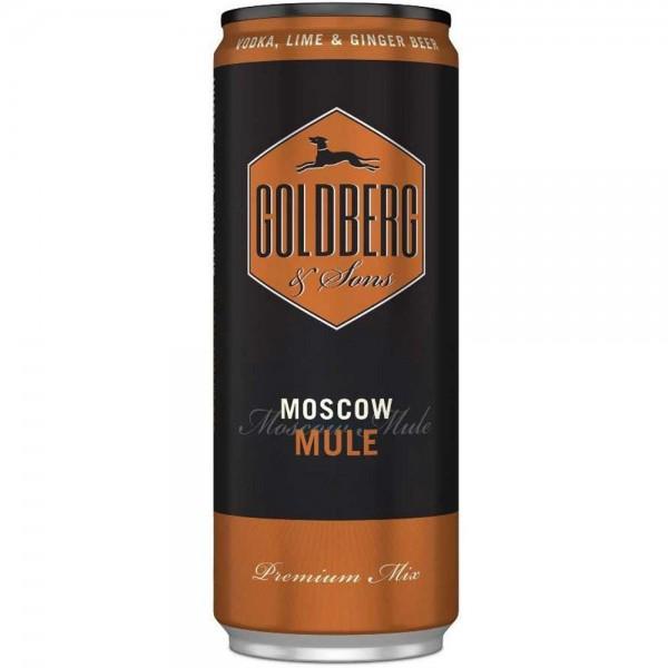 GOLDBERG Premix Moscow Mule Dose 0,33l