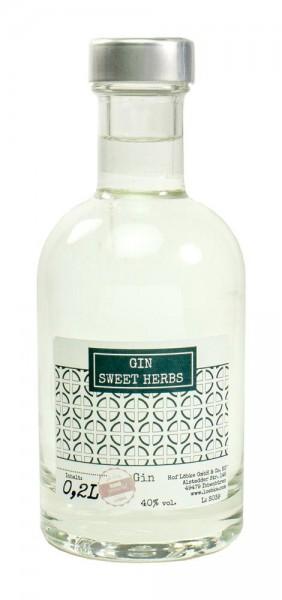 Gin-Sweet-Herbs 0,20l Nocturne-Flasche