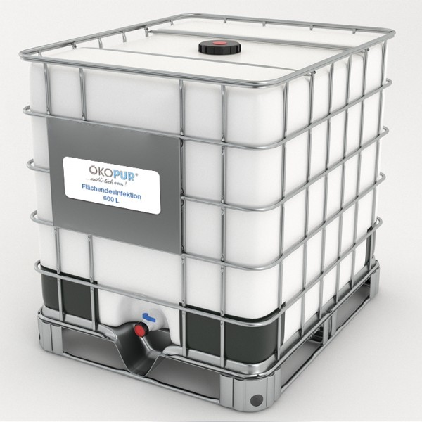 Flächendesinfektion 600 L IBC Container