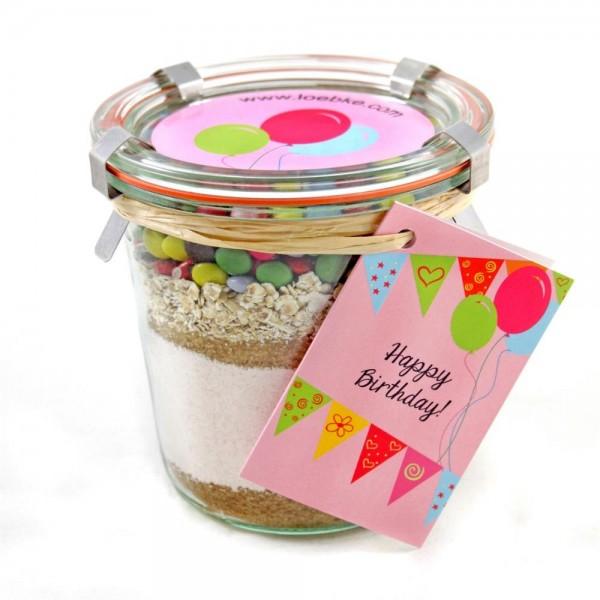 Backmischung Geburtstags-Kuchen Happy Birthday 580ml
