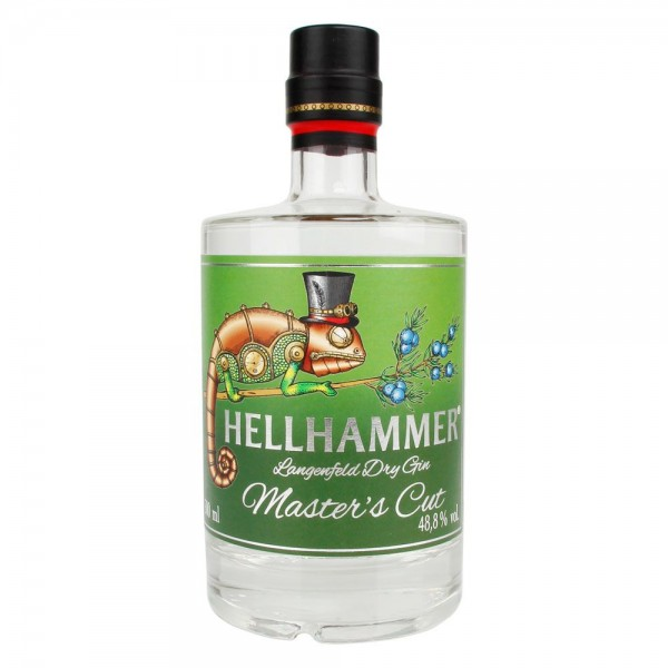 Hellhammer Dry Gin Master's Cut 0,5L