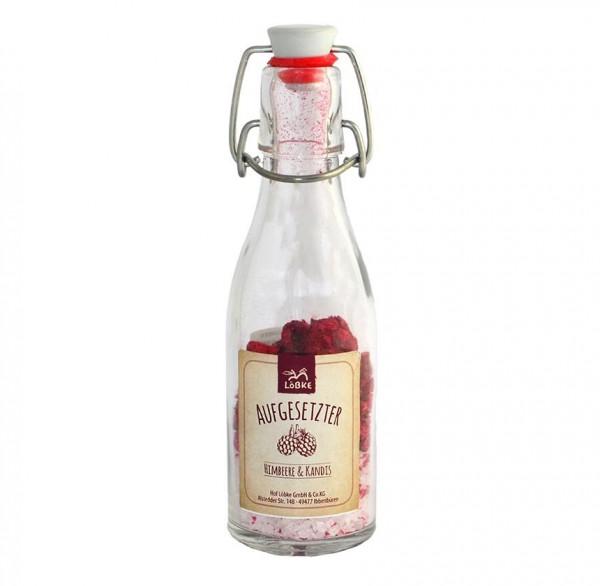 Aufgesetzter Himbeere & Kandis 65g Bügelflasche