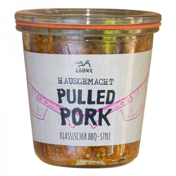 Pulled Pork Grill-Etikett 290ml Weckglas
