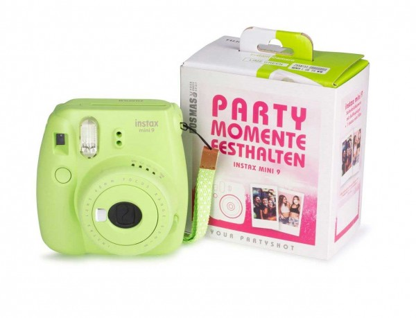 "FUJIFILM Instax mini Partycam in ""lime green"""